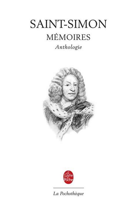 Livre: Anthologie des Mémoires de Saint-Simon, anthologie