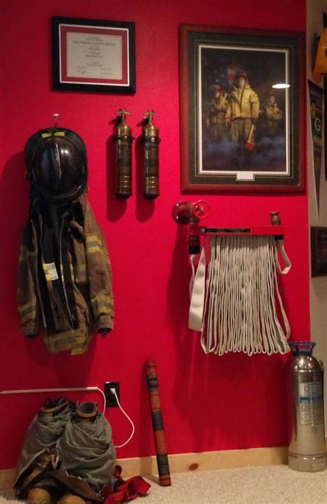 best 25 firefighter decor ideas on