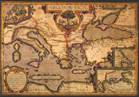 騅ier cuisine en r駸ine carte ancienne arts et voyages