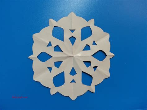Make Your Own Paper Snowflake - craft make your own paper snowflakes r