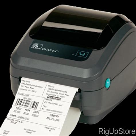 Printer Zebra Gk420t barcode label printer