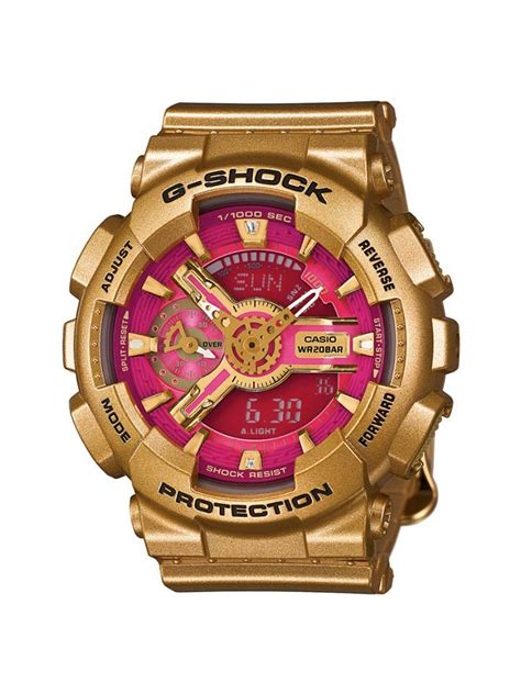 Casio G Shock Gma S110gd 4a2 Gold promo g shock gold gma s110gd