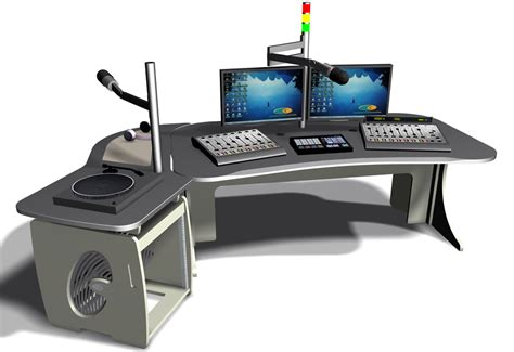 Radio Studio Desk by Prosecurenewsonline The News For Security Buyers