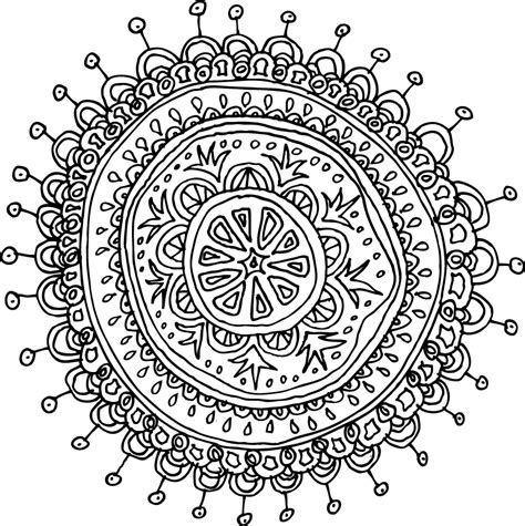 pattern mandala drawing mandalas pattern of the day