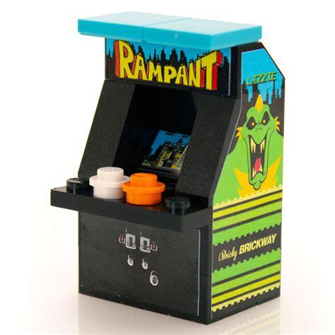 tiny lego arcade machines  perfect   minifigs