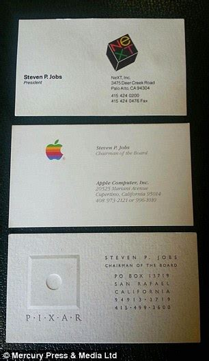 Sell Apple Gift Card - apple business cards rare steve jobs business cards from apple next and pixar sell at
