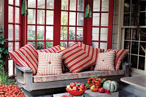 red porch swing bright red porch swing peaceful porch swings southern