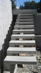 treppen beton detail cantilevered stair 171 home building in vancouver