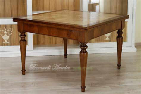 tavoli antichi quadrati tavoli allungabili in rovere 18 tavoli