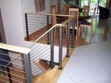 Kitchen Design Ideas Images Interior Railing Systems Azek Railing Stairs And Kitchen