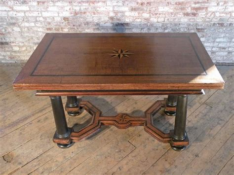 what is a draw leaf table 17th century inlaid draw leaf table for sale at 1stdibs