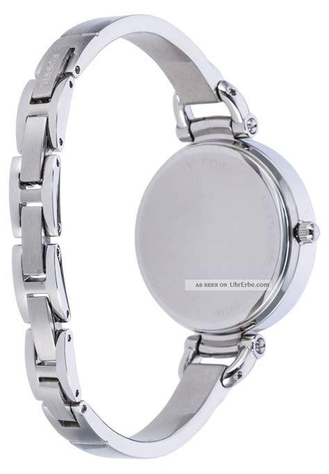 Silber Uhr Polieren fossil damenuhr silber glitzersteine matt und poliert wie