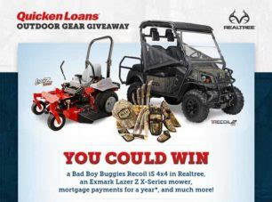 Quicken Loans Giveaway - vehicles sweepstakes directory part 3