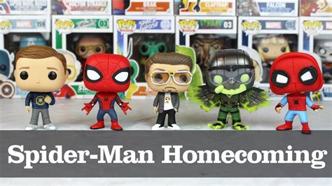 Funko Pop Marvel Spider Homecoming spider homecoming funko pop showcase