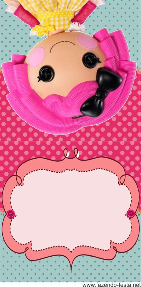 lalaloopsy party invitations template best template lalaloopsy free printable mini kit oh my fiesta in english