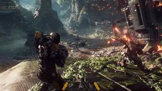 anthem e3 gameplay reveal on xbox one x suggests the game