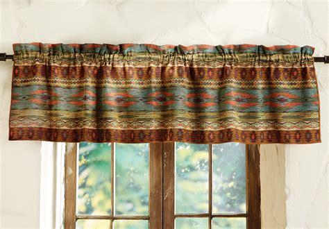 southwest curtains and valances saguaro trail southwest valance