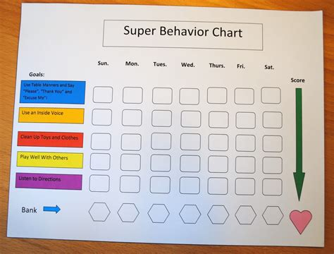 printable reward charts for 3 year olds free behaviour charts for 6 year olds printable and image