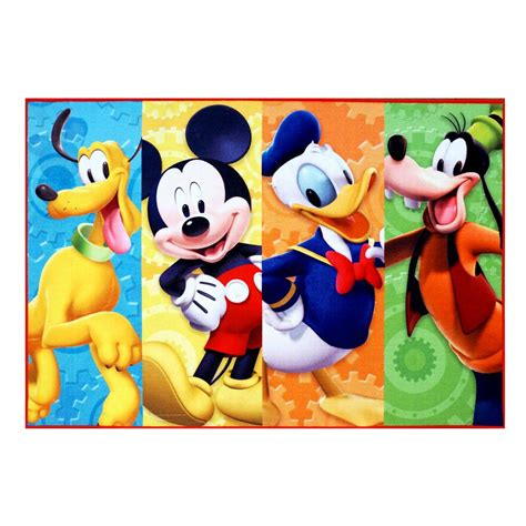 Disney Mickey Mouse Area Rug Carpet - mickey mouse rugs sale area rug ideas