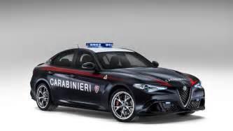 Alfa Romeo Carabinieri Italian Carabinieri Get Two Alfa Romeo Giulia Qv