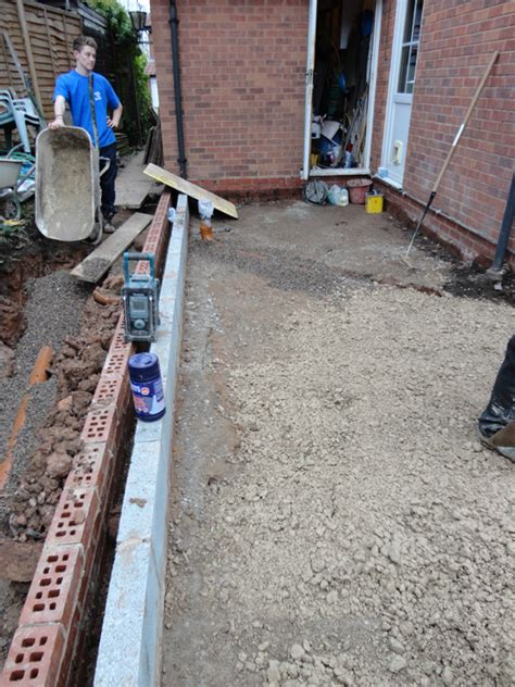 Single Floor Extension by Single Storey Kitchen Extension Construction Diary Before