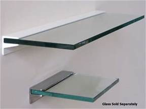 heavy duty shelves toughened glass floating shelf