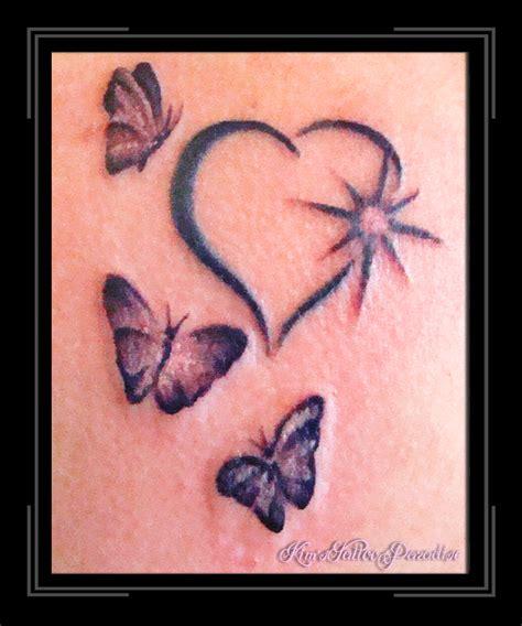 hart tattoo top hart bloem images for tattoos