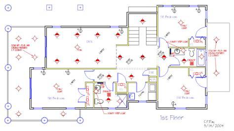 House Floor Plan Electrical Wiring Diagram   Get Free