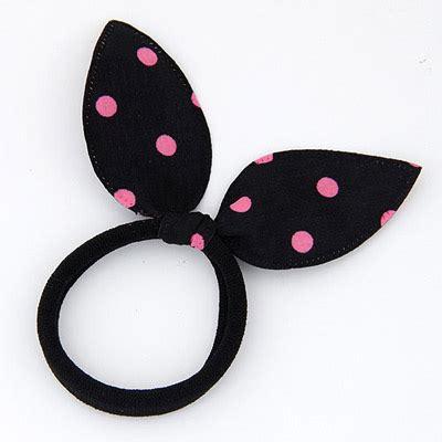 Bando Bowknot Decorated Flower Pattern Design 6 fashion black dot pattern decorated bowknot shape design