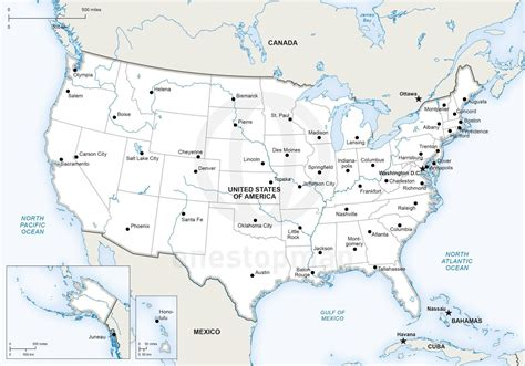 us map with big cities 50 largest us cities map thempfa org