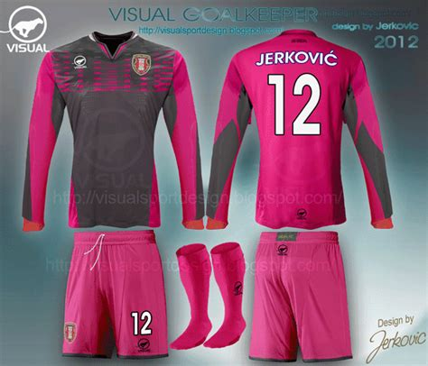 goalkeeper jersey design your own visual football fantasy kit design july 2013