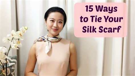 How to Wear a Silk Scarf in 15 Easy Ways   YouTube