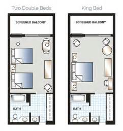 Hotel Room Floor Plan by Deluxe Hotel Rooms Orlando Golf Resort Mission Inn