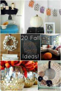 Ideas For Fall Decorating At Home 20 Fall Home Decor Ideas