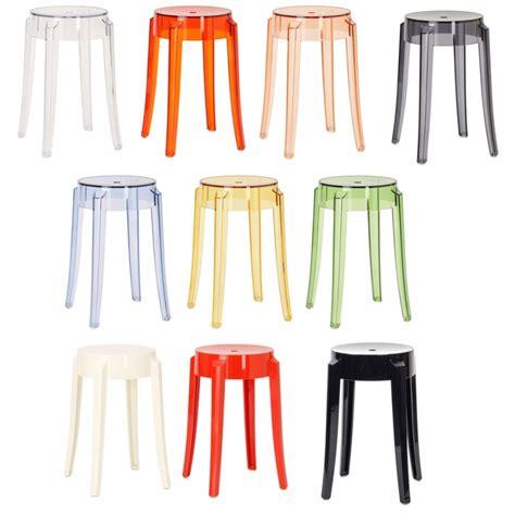 le starck kartell kartell charles ghost hocker barhocker philippe starck object designprodukte kaufen