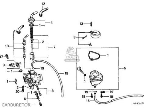 honda qr50 1994 r australia parts list partsmanual