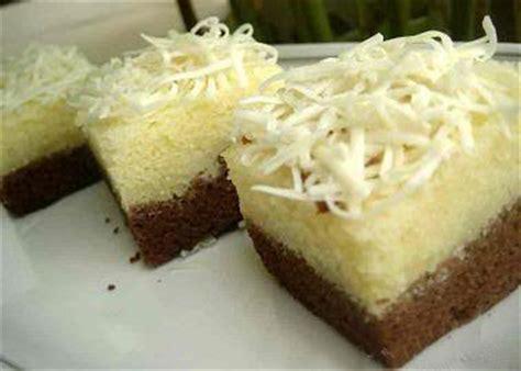 resep brownies kukus coklat tabur keju blogresep com resep kue brownies kukus coklat keju