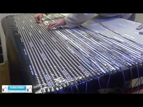 diy led curtain how to build a flexible led curtain display by led strips