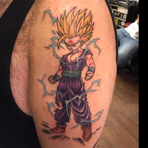 gohan tattoo www pixshark com images galleries with a