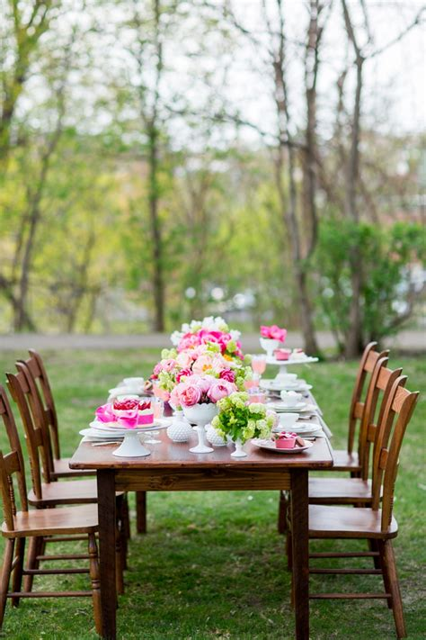 pink bridal shower themes 2 pink garden bridal shower ideas every last detail