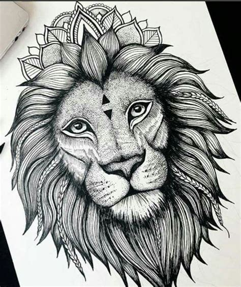 lion mandala tattoo best 25 ideas on small