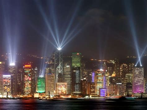 photo of the day holiday lights in hong kong china