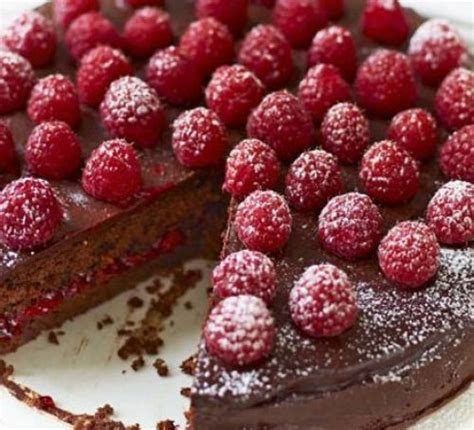 chocolate raspberry recipes raspberry chocolate torte recipe food