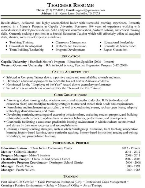 Kindergarten Teacher Resume Examples resume samples types of resume formats examples amp templates