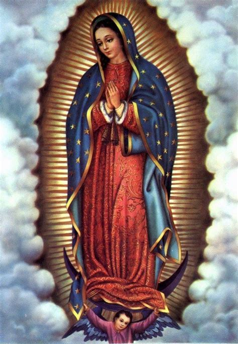 imagen de la virgen maria original virgen de guadalupe pinteres