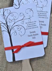 Family Reunion Favors by Family Reunion Favors Custom Fans Family By