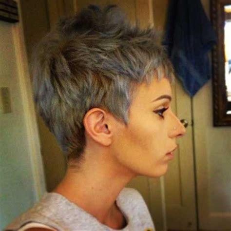 short grey hair pics short hairstyles