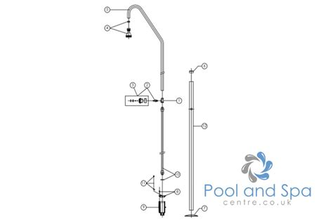 astral pool stainless steel shower spare parts www
