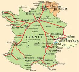 Tgv Route Map by The High Speed Trains Used In France Are Known As Tgv