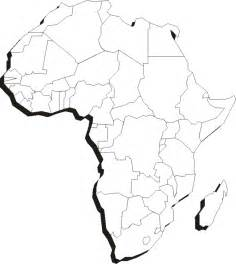Africa Outline Map by Printable Blank Maps Of Africa Blank Continents Map
